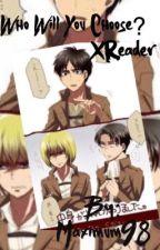 Armin x Reader x Levi Who will you choose?(Lemon) by Maximum98