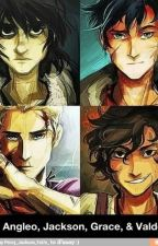 Percy Jackson And The Avengers by ionicman10