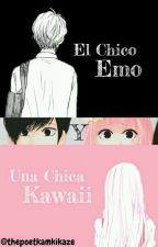 El Emo y una chica Kawaii by thepoetkamikaze
