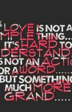Love is simple but hard by al_namjo