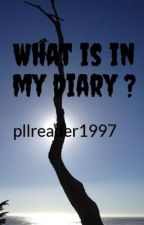 What is in my diary ? #justwriteit challenge by pllreader1997