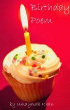 Birthday Poem by ElizabethMay
