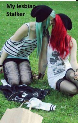 Girls kissing having teen