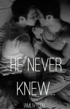 He Never Knew (A Klaine Story) by clockworkcellist