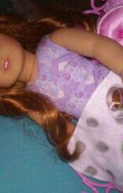 American Girls: A Sick Girl In Bed by 32192620jk