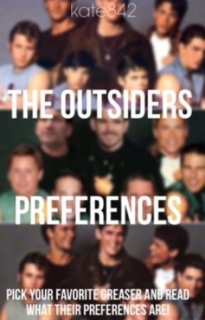 The Outsiders Preferences - #111: The promise ring he gets