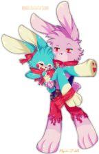 FNAF: The Precious Gift (Toy Bonnie X Bonnie) by DerpySparks4