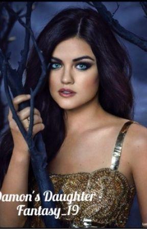 Damon's daughter~ vampire diaries fanfic by Fantasy_19