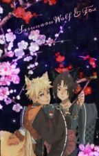 Sasunaru Wolf and Fox | ✔️ by LoveFox7