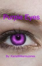 Purple Eyes by KarlaWilliamsJones