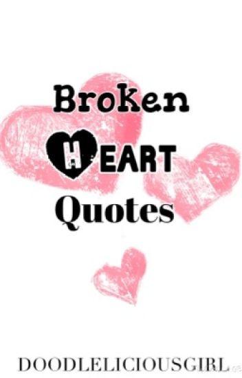Broken Heart Quotes Devilicious Wattpad