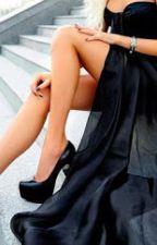 La chica del vestido negro by valeriebizzle8
