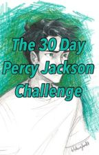 30 Day Percy Jackson Challenge by leximoose