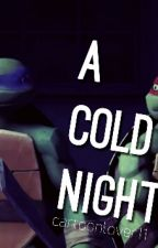 TMNT Raphanardo SHORT STORY: A cold night by kuroganetakashi