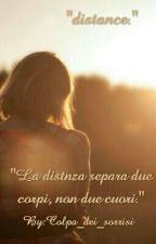 """""""distance."""" by disattivazione"""