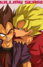 Goku and Vegeta-KILLING SENCE by SSJ_Alpha_Princess