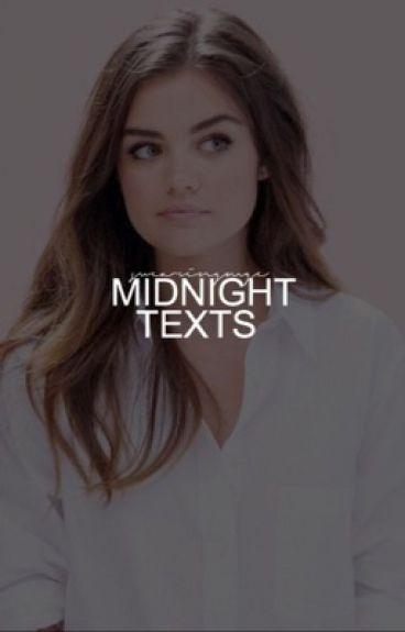 midnight texts ▹ Stiles Stilinski