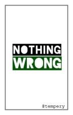 NOTHING WRONG by tempery