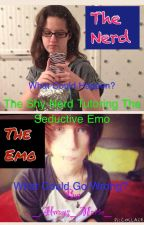The Shy Nerd Tutoring The Seductive Emo by -_Marie_-
