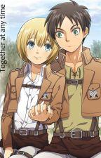 Eren x Armin by Akiba_Red