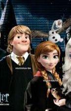 frozen hogwarts by selendemirli
