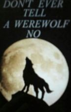 DONT EVER TELL A WEREWOLF NO!! by dawn1738