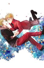 Forget me not. DISCONTINUED UNTIL FURTHER NOTICE!  { UsUk fanfic} {high school Au} by Phyrrhic