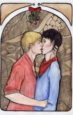 Merlin: A Christmas kiss by EmmaWilliams66