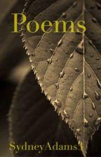 Poems! by SydneyAdams3