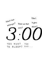 3:00 by KilljoyattheMCRmy