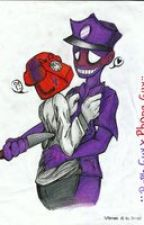 In love with a killer: purple guy x phone guy by skeletonred55