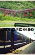 Blue Trains VS Red Trains by subunikki
