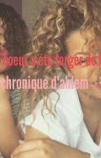"""Mon cœur a été forger de haine """" Chronique d'Ahlem """" by Knz_reno"""