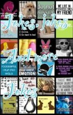 Laugh until you piss - joke book by dat_blonde_one