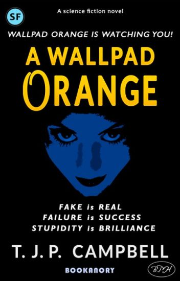 A wallpad ORANGE
