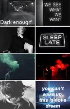 Dark Enough | Drarry Fanfiction by Gay_Slytherin_Prince