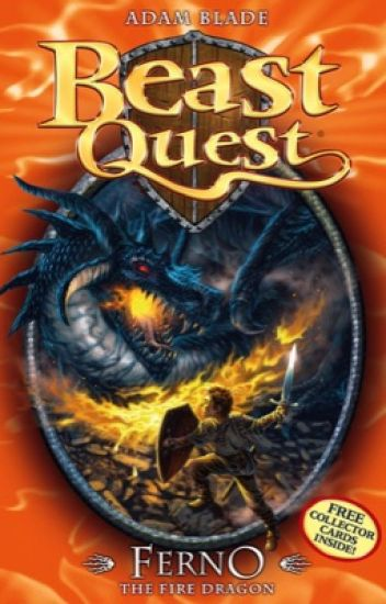 Beast Quest Ferno The Fire Dragon