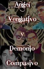 Angel Vengativo y Demonio Compasivo - Lutaxx y Wigetta by Majo-Uma