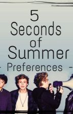 5 Seconds of Summer Preferences by irwinshugxs