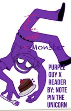 In love with a monster purple guy X reader by note_pin