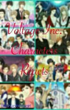 Voltage Inc. Characters Reacts by Kuuderewritesfanfic