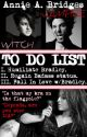 To Do List (Vampire Witch Romance) by CelticMemories
