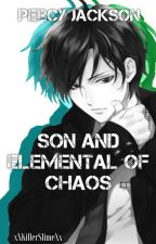 Percy Jackson Son and Elemental of Chaos by xXKillerSlimeXx
