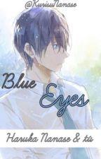 Blue eyes (Haruka Nanase  & Tu) by KurisuNanase