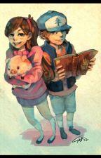 Mabel&Dipper by Naima111431
