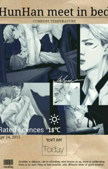 HunHan meet in bed