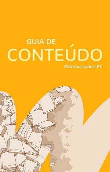Guia de Conteúdo by EmbaixadoresBR