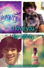 I Love You For Infinity. (Hayes Grier) by ScarlettEspinosa123