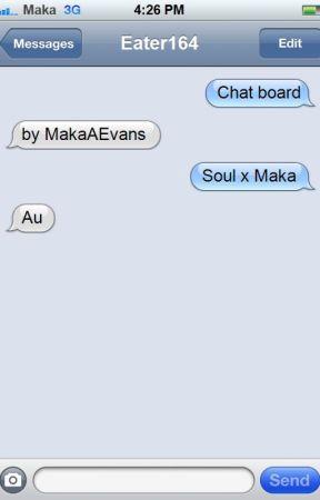 Soul x Maka au by MakaAEvans