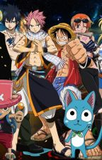 One piece Fairy tail fan-fiction crossover by 101bunnylover